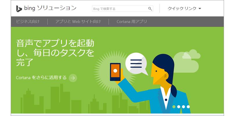 Bing ソリューション