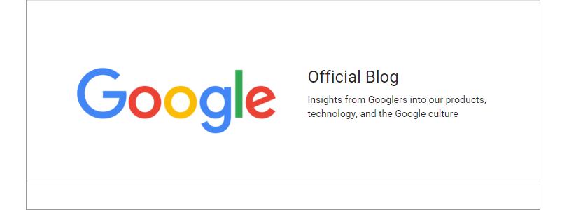 Googleのオフィシャルブログ