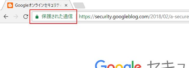 HTTPS保護された通信